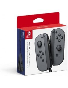 Nintendo Joy-con Controladores En Gris